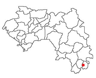 Lola Prefecture Prefecture in Nzérékoré Region, Guinea