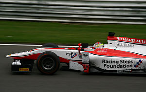 James Calado - Calado winning the Belgium 2013 GP2 Grand Prix