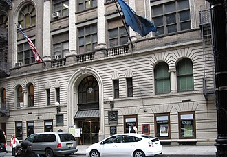 General Society of Mechanics and Tradesmen of the City of New York - General Society's Library Building