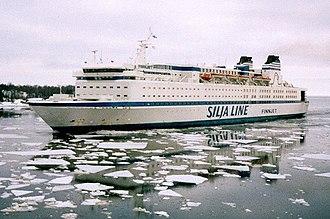 GTS Finnjet - Image: GTS Finnjet Helsinki