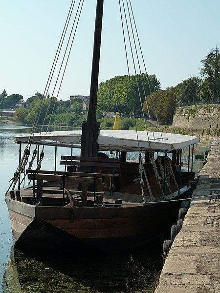 Gabare à Bergerac