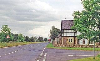 Gaisgill railway station Disused railway station in Cumbria, England