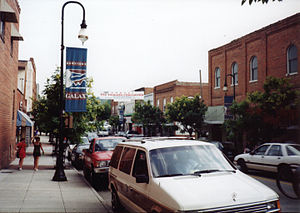 Galax, Virginia - Downtown Galax, Virginia
