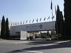 English: Gallagher Convention Centre, Midrand,...
