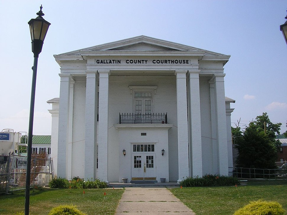 Gallatin county courthouse
