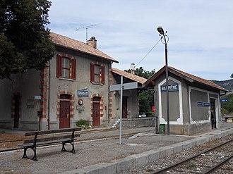 Barrême - Barrême Station