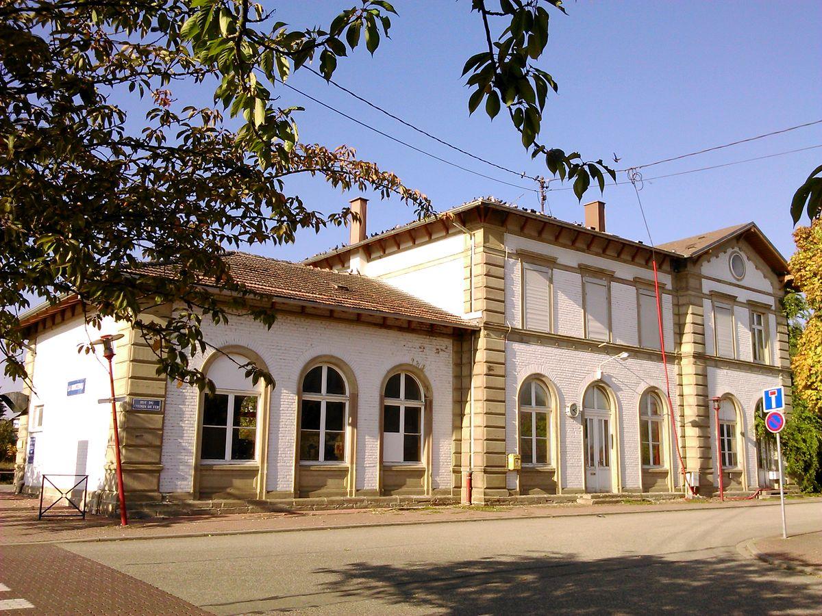 Gare de la wantzenau wikip dia for Garage de la gare bretigny