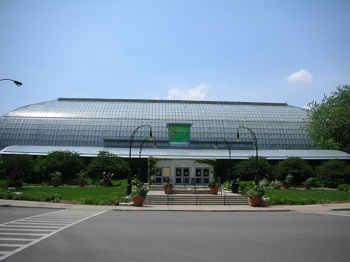 File Garfield Park Conservatory Structure Jpg Wikimedia Commons