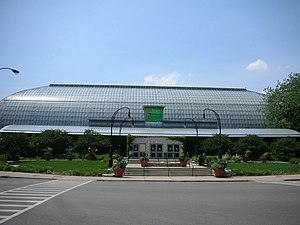 Garfield Park Conservatory - Image: Garfield Park Conservatory Structure