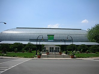 Garfield Park Conservatory - Image: Garfield Park Conservatory Structure