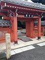 Gate of Higashi-Kubizuka in Sekigahara, Gifu.jpg