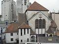 Gdańsk Wrzeszcz synagoga - tył.JPG