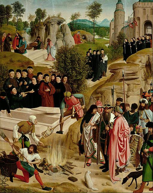 Geertgen Tot sint Jans - Legend of the Relics of St. John the Baptist - Google Art Project