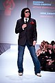 Gene Simmons wearing Indochino - Heart and Stroke Foundation - The Heart Truth celebrity fashion show - Red Dress - Red Gown - Thursday February 8, 2012 - Creative Commons.jpg