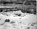 General view - basement footings complete, forms in place for equipment rooms at Mission 66 Visitor Center and Museum. ; ZION (2d86adf129fc4bd1a19d03b3d1169423).jpg