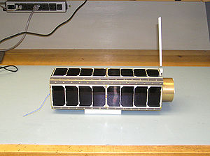 GeneSat-1 - The GeneSat-1 satellite.