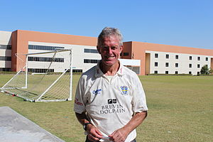 Geoff Cook - Geoff Cook at Delhi Private School, Dubai in 2011