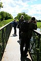 Geographing from a Footbridge - geograph.org.uk - 1272022.jpg