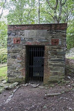 George Alfred Townsend - Townsend's unused mausoleum at Gathland State Park