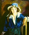 George Bellows, Madeline Davis, 1914. Oil on panel, 76.2 x 63.5 cm (30 x 25 in.).jpg