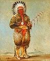 George Catlin - Ráw-no-way-wóh-krah, Loose Pipestem, a Brave - 1985.66.120 - Smithsonian American Art Museum.jpg