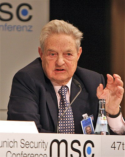 George Soros, Hungarian-American business magnate, investor and philanthropist