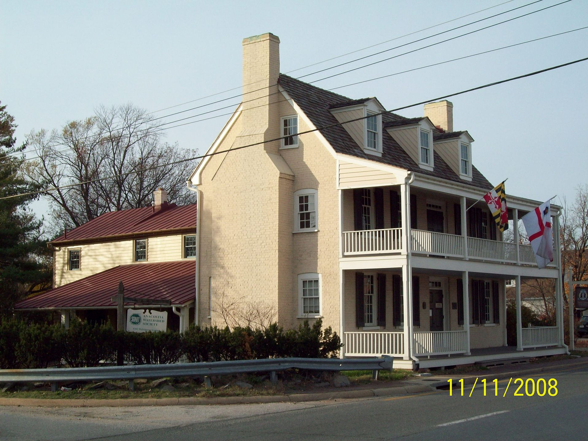 George Washington House Bladensburg Maryland Wikipedia