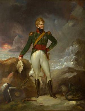 De Lacy Evans - De Lacy Evans by Peter Edward Stroehling, ca. 1825