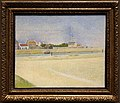 Georges seurat, il canale di graveline, grand fort-philippe, 1890.jpg