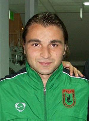 Georgi Kinkladze - Kinkladze at Rubin Kazan in 2005