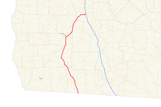 Georgia State Route 300 - Image: Georgia state route 300 map