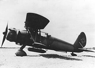 Arado Ar 197 Prototype fighter by Arado