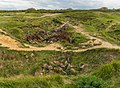 German bunkers remains at Pointe du Hoc.jpg