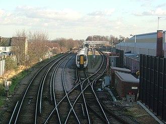 Chatham main line - Image: Gillingham Rail 3975