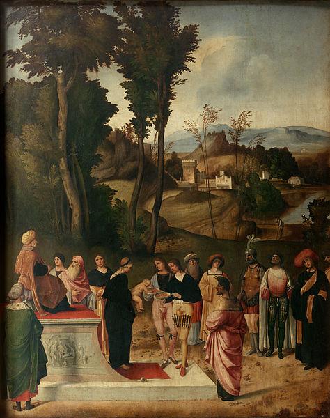 File:Giorgione - Mosи alla prova del fuoco - Google Art Project.jpg