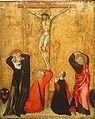 Giovanni di Paolo Crucifixion with donor Jacopo di Bartolomeo.jpg