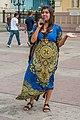 Girl dressed in blanket guajira.jpg