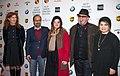 Git Scheynius, Asghar Farhadi, Parisa Bakhtavar in 2018.jpg