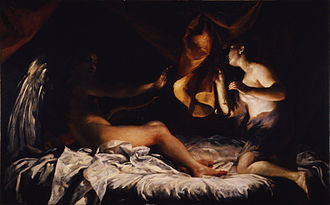 Giuseppe Crespi - Cupid and Psyche