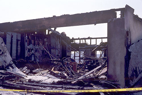 Glendale House Destroyed By Arson 1990