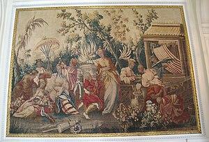 Gobelin - Gobelins tapestry, circa 1680, in the Musée Nissim de Camondo, Paris.