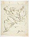 God The Father Creating (?) (r.); Study of neo-classical statue of a nude male (v.) MET DP811536.jpg