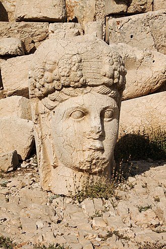 Kingdom of Commagene - Monumental head of the goddess Commagene from Mount Nemrut