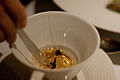 Golden watch in tea! (5672052392).jpg
