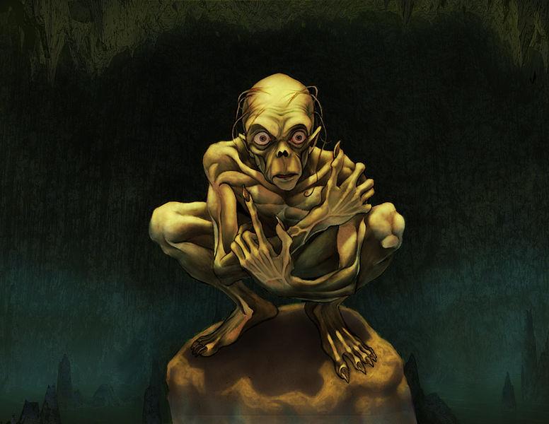 Ficheiro:Gollum by saulone.jpg