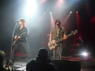 Goo Goo Dolls discography - The Goo Goo Dolls performing in 2010