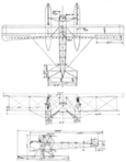 Gotha WD.7 3-view Aviation and Aeronautical Engineering September 15,1916.png