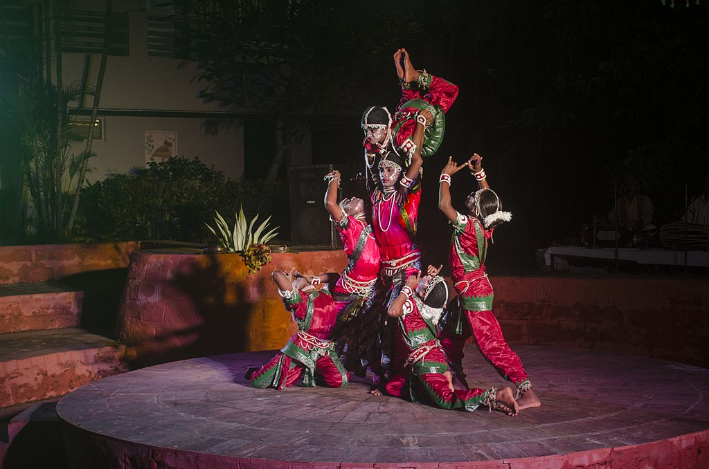 Gotipua Dancers perform at Sterling Resort Puri, Odisha