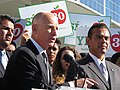 Gov. Jerry Brown and Mayor Villaraigosa (8117039893).jpg