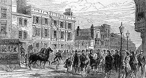 Southern Command (United Kingdom) - Government House, High Street, Portsmouth, command headquarters from 1826 to 1882